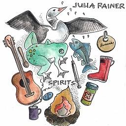 Julia Rainer - Spirits (CD comes with sage to burn)