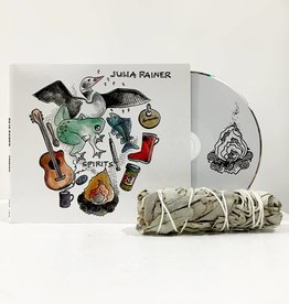 Julia Rainer - Spirits (CD comes with sage to burn)
