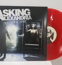 Asking Alexandria - From Death To Destiny (2 LP, Transparent Red Vinyl, Includes Download)