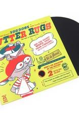 """DJ Qbert -  Butter Rugs 7"""" Black (2 Slipmats)"""