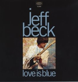 Jeff Beck - Love Is Blue / I've Been Drinking [7''] (Blue Vinyl, sourced from the original mono master reels, limited to 2000, indie-exclusive)