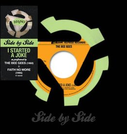 """Bee Gees/Faith No More - Side By Side: I Started A Joke (7"""" Doublemint Green Vinyl Single)(Record Store Day Exclusive)"""