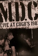 M.D.C. - Live at CBGBs 1983 [LP] (Translucent Green Vinyl, first time on vinyl, limited to 1000, indie-retail exclusive)