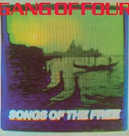 Gang Of Four - Songs Of The Free (180 Gram Blue/Purple/Yellow Splatter Vinyl)(Black Friday Exclusive)