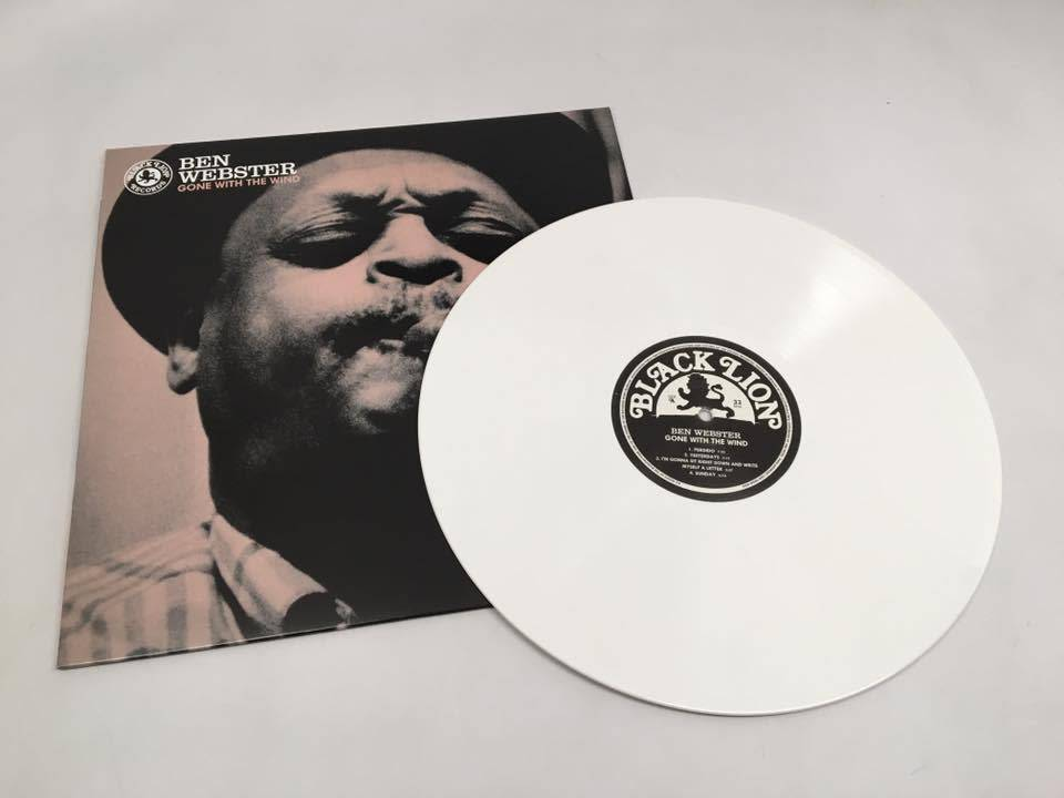 Ben Webster - Gone With The Wind (180 Gram, White Vinyl, Black Friday RSD Exclusive)