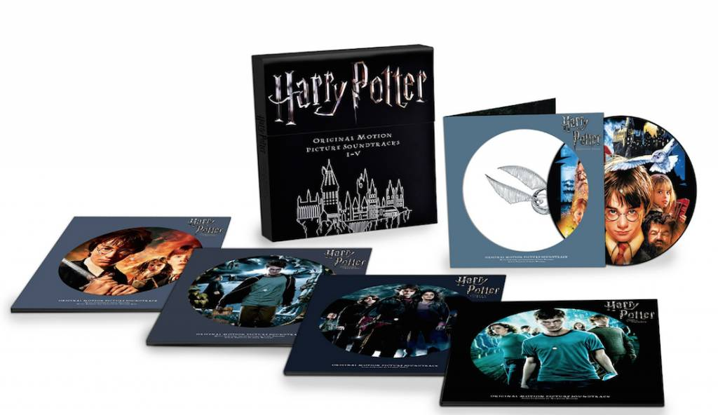 Harry Potter Soundtrack - Harry Potter: Original Motion Picture Soundtracks I-V (10LP Picture Disc Box Set)