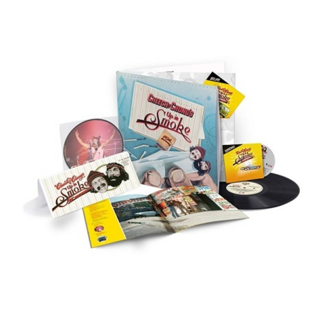 "Cheech & Chong - Up In Smoke (40th Anniversary Deluxe Collection)(1Compact Disc/1Bluray/1LP/7"" Vinyl)"