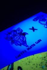 "Cherry Moth Cake 12"" Custom Slipmat - UV / Blacklight Activated (Limited to 250)"
