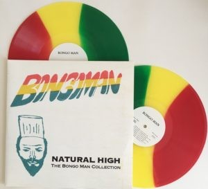 Various Artists - Natural High: The Bongo Man Collection [2LP] (Red, Gold & Green Vinyl, download, limited to 1350, indie-retail exclusive)