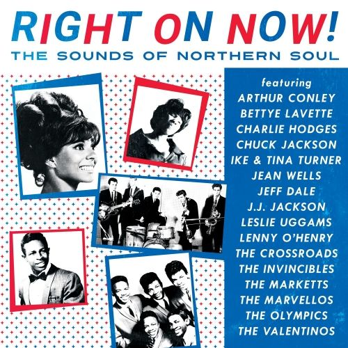 Various Artists - Right On Now! The Sounds of Northern Soul [LP] (White, Red, & Blue Colored Vinyl, limited to 2500, indie-retail exclusive)