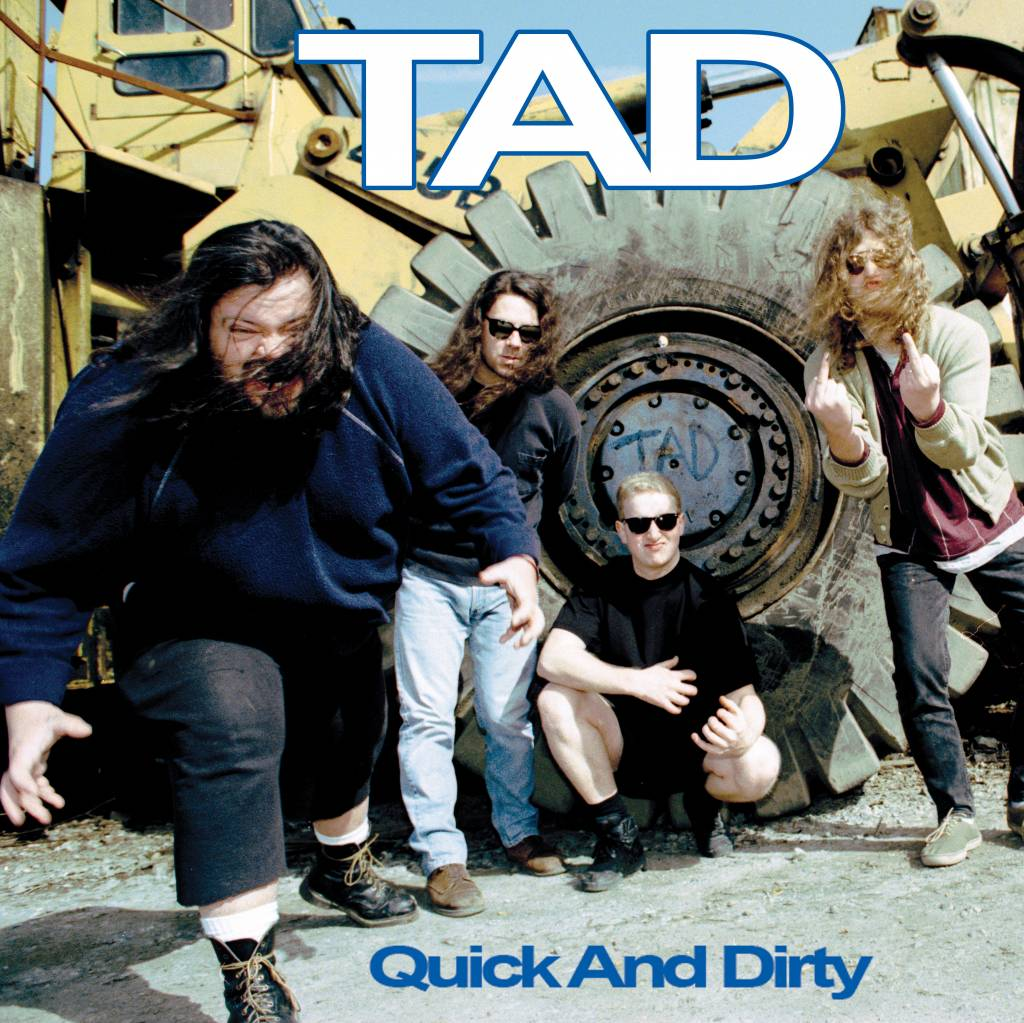 TAD - Quick And Dirty [LP] (Opaque Green Vinyl, limited, indie advance exclusive)