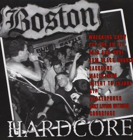 Various Artists - Boston Hardcore '89-91 [LP] (limited to 500, indie-retail exclusive)