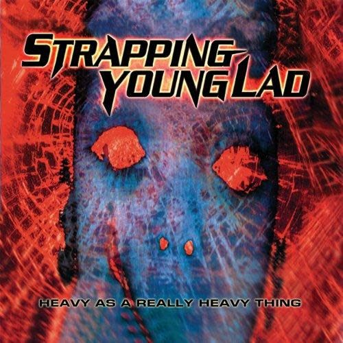 Strapping Young Lad - Heavy As A Really Heavy Thing [2LP] (Red & Blue 180 Gram Vinyl, 3 Bonus Tracks, etched D-side, Devin Townsend band, gatefold, limited to 1000, indie-advance-exclusive)
