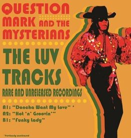 Question Mark And The Mysterians - Doncha Want My Love / Hot n'Groovin / Funky Lady [7''] (including an exclusive, previously unreleased track, limited to 1000, indie-retail exclusive)