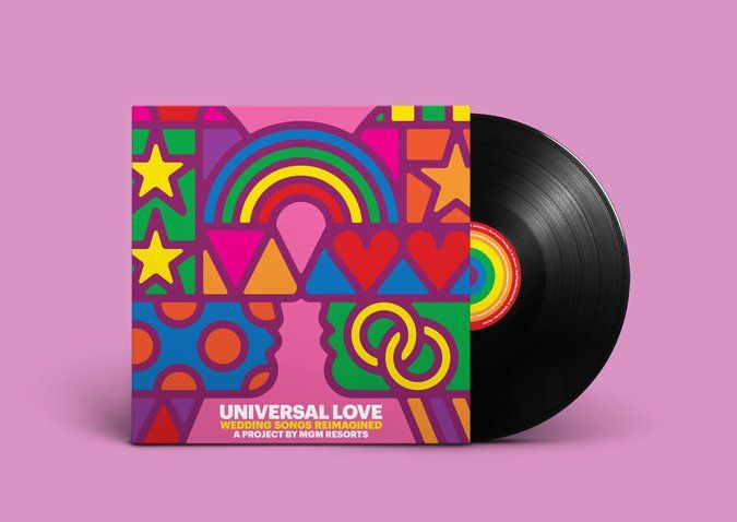 Indie Wedding Songs.Various Artists Universal Love Wedding Songs Reimagined Lp Each Song Has The Gender Specific Pronouns Reversed In Recognition Of Marriage