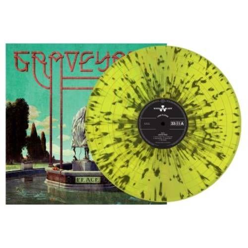 Graveyard - (Red W/ White Splatter Vinyl)