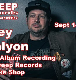Trey Galyon Live Album Recording at Creep Records Smoke Shop