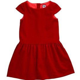 Busy Bees Busy Bees Alexa Red Velvet Dress