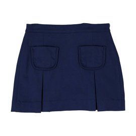 CPC Childrenswear Girls Blue Cara Pleated Skirt
