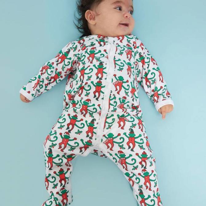 Roberta Roller Rabbit Roller Rabbit Footie Pajama Monkey Mas