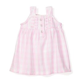 Petite Plume Petite Plume Doll Nightgown Pink Gingham