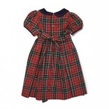 Sophie & Lucas Sophie & Lucas Tartan Holly Dress Navy