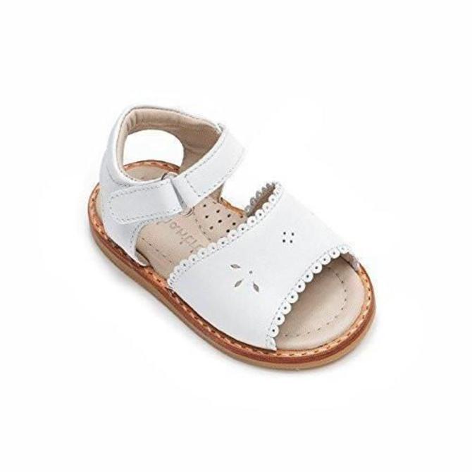 Elephantito Girls Classic Sandal with Scallop