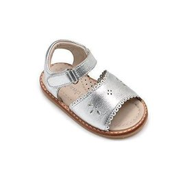 Elephantito Elephantito Girls Classic Sandal with Scallop