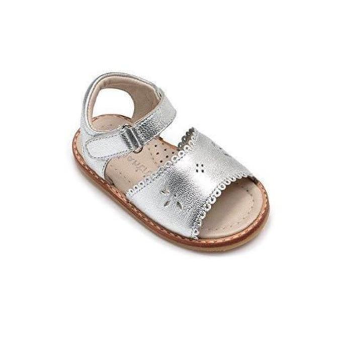 Elephantito Elephantito Girls Classic Sandal with Scallop