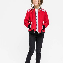Recess Kids Bomber Jacket Red