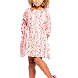 Smiling Button Smiling Button Pink Sweater Winnie Dress