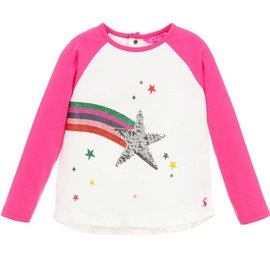 Joules Joules Printed Long Sleeve T-Shirt