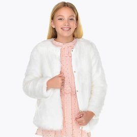 Mayoral Fur Coat
