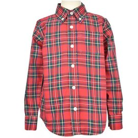 Eland Kids Eland Stewart Plaid Button-down Shirt