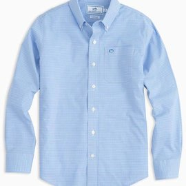Southern Tide Southern Tide Youth Gingham Sport Shirt