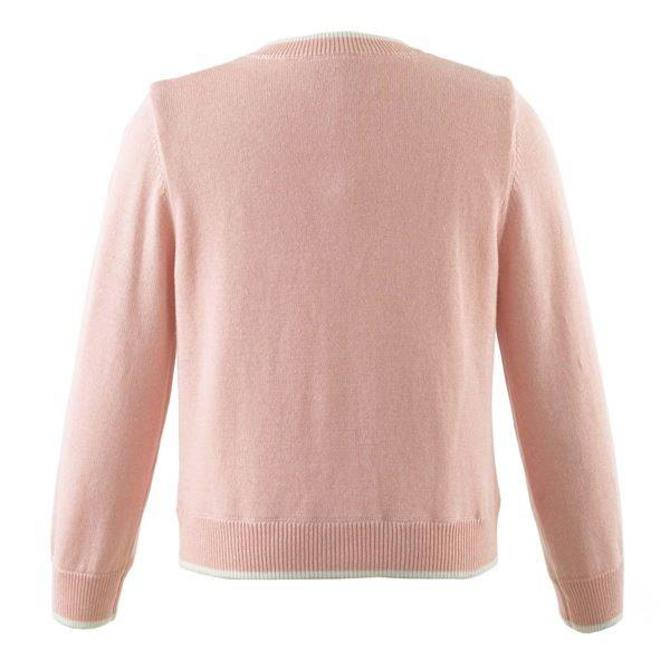 Rachel Riley Bow Cardigan Pink