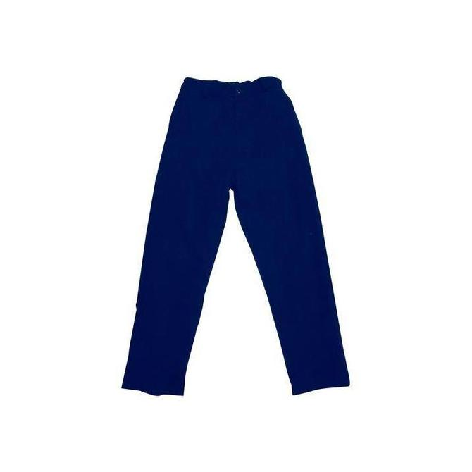 Busy Bees Busy Bees Boys Alex Flay Front Pant Navy Corduroy