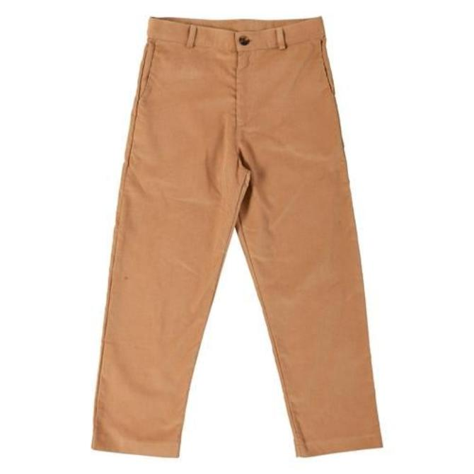 Busy Bees Busy Bees Boys Alex Flay Front Pant Khaki Corduroy