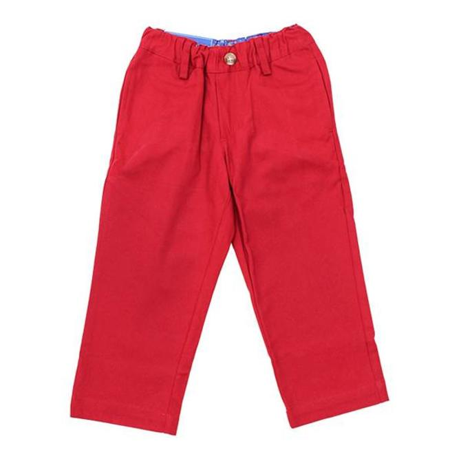 The Bailey Boys J Bailey Twill Pant Crimson