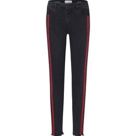DL1961 Girls Chloe Pop Black (Red Stripe)