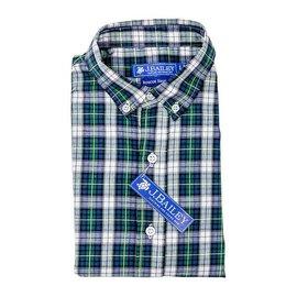 The Bailey Boys J Bailey Button Down Shirt Mallard Plaid Green