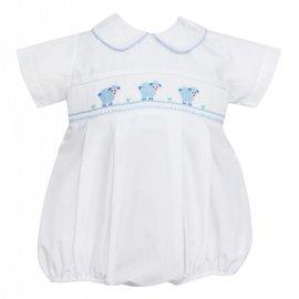 Petit Bebe Petit Bebe Baby Lamb Boys Bubble