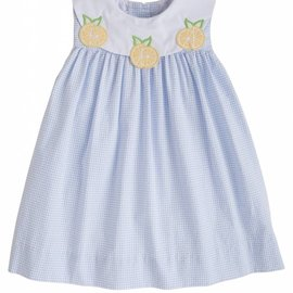 Little English Lemon Bib Dress