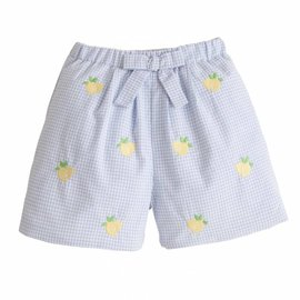 Little English Lemon Bow Short