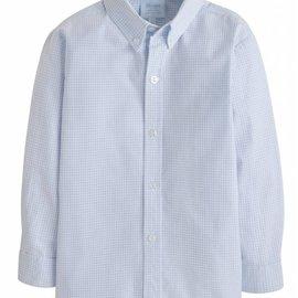 Little English Boys Basic Gingham Button Down Shirt