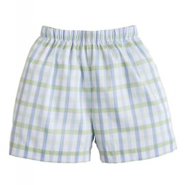 Little English Boys Vintage Check Basic Short