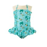Rachel Riley Tropical Ruched Swimsuit