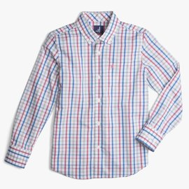 Johnnie-O Gaffton Scarlet Button Down Shirt