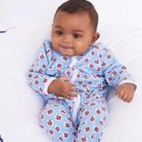 Roberta Roller Rabbit Infant Love Bug Footie Pajama