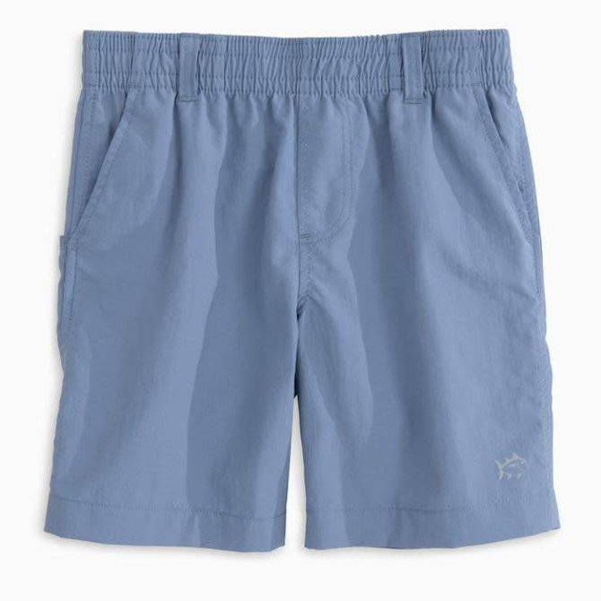 Southern Tide Shoreline Quick Dry Active Short Squall Grey